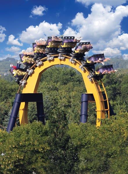 roller coasters batman
