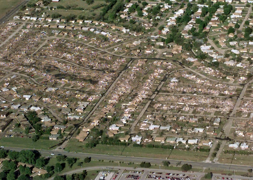 02 1999 Oklahoma tornado