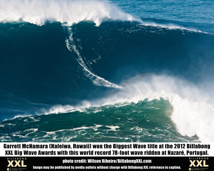 big wave nazare portugal XXL