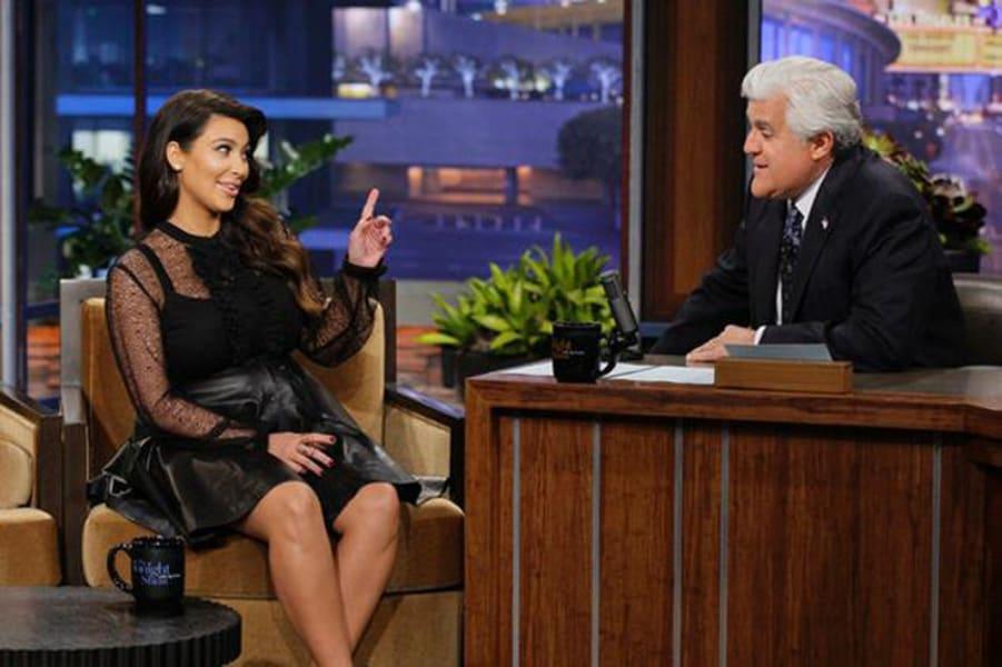 Kim Kardashian Jay Leno Show 2013