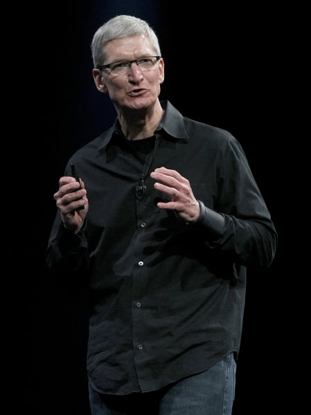 Tim Cook Apple 2012