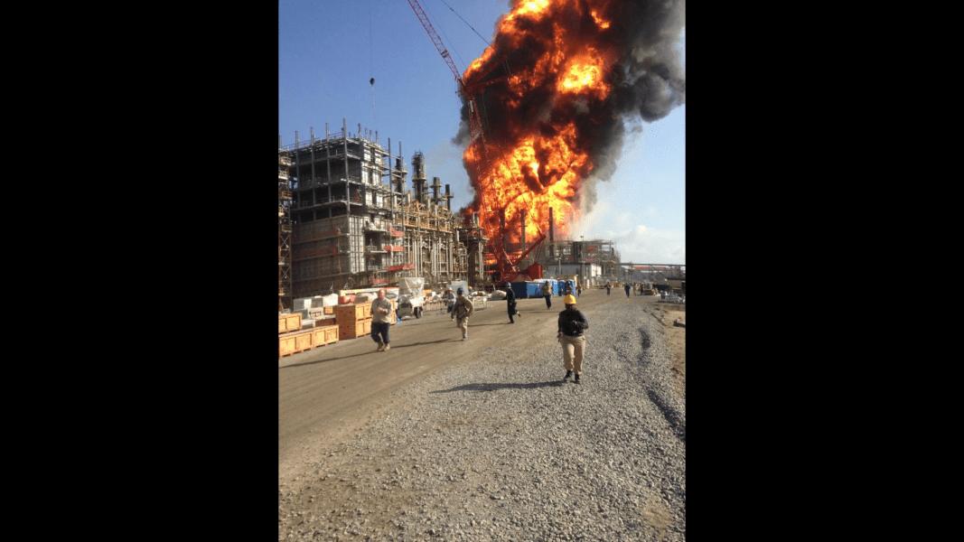 louisiana explosion WAFB