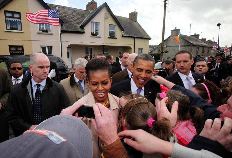 12 obama irish roots