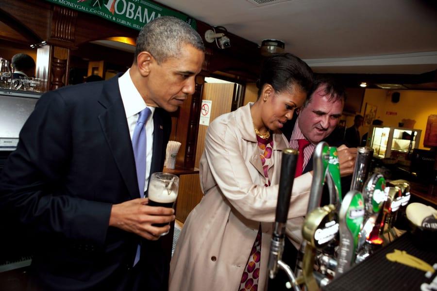 16 obama irish roots