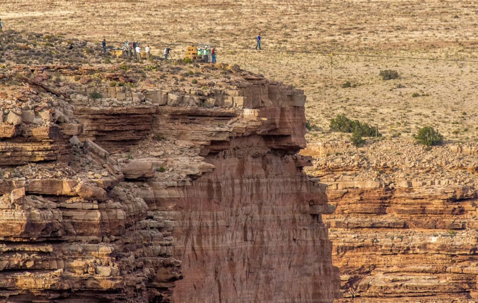 Tightrope Grand Canyon