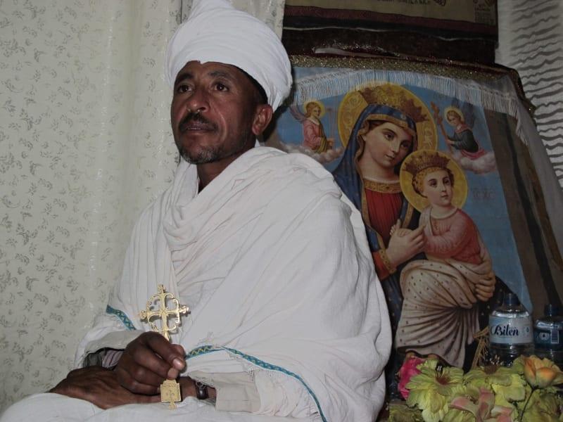 lalibela local priest ethiopia
