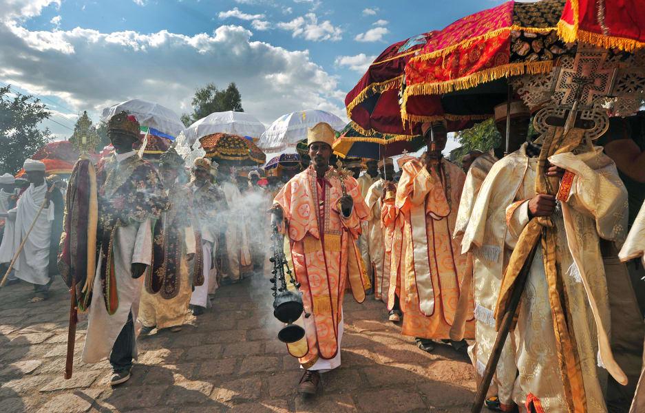 lalibela ethiopian priests monks timkat