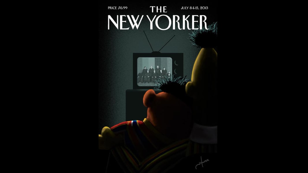 New Yorker same-sex marriage cover