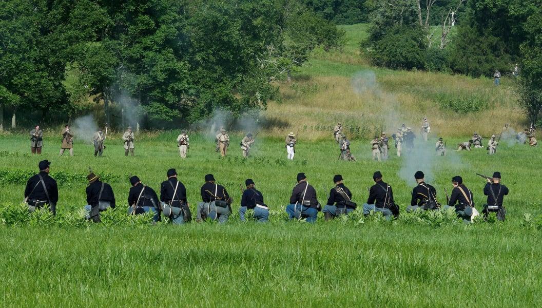 09 gettysburg reenactment
