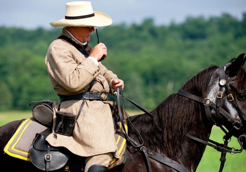 10 gettysburg reenactment