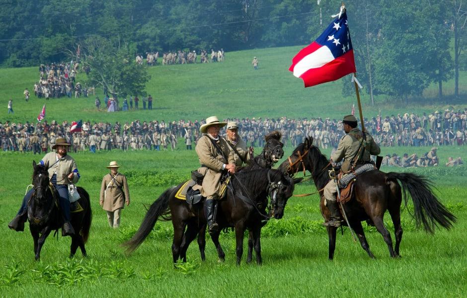 11 gettysburg reenactment