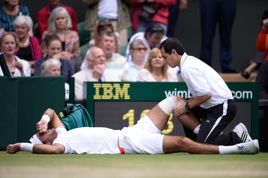 Tennis Wimbledon Del Potro