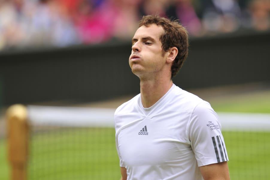 Wimbledon Murray losing