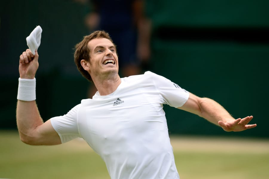 Murray victory Tennis