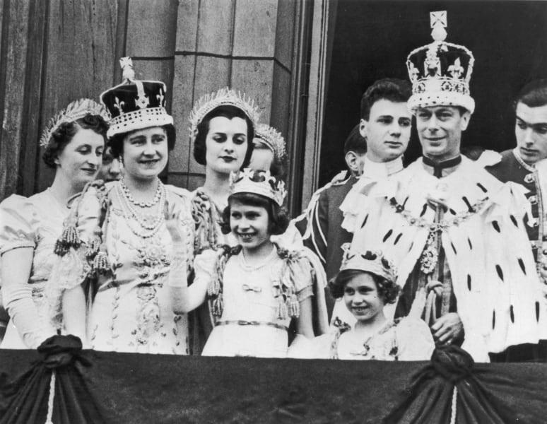 King George VI Queen Mother Queen Elizabeth II