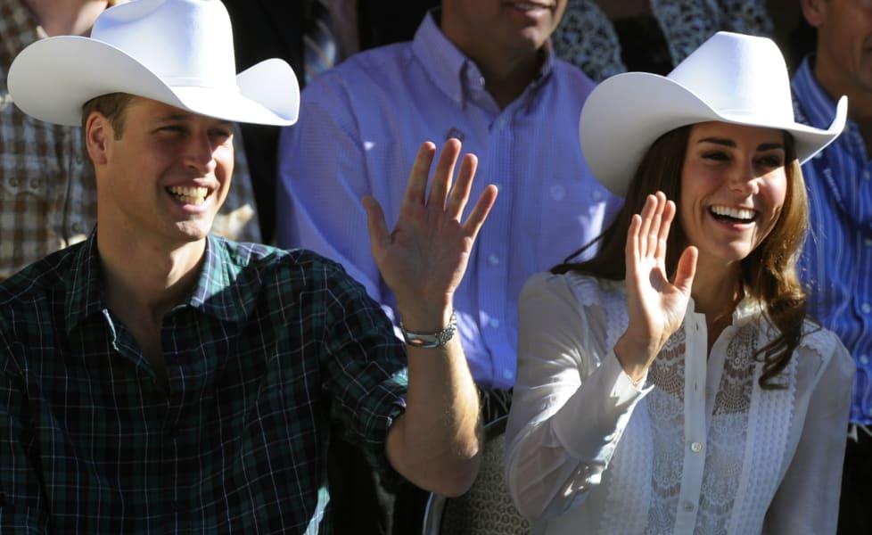 Duke and Duchess of Cambridge Calgary Stampede