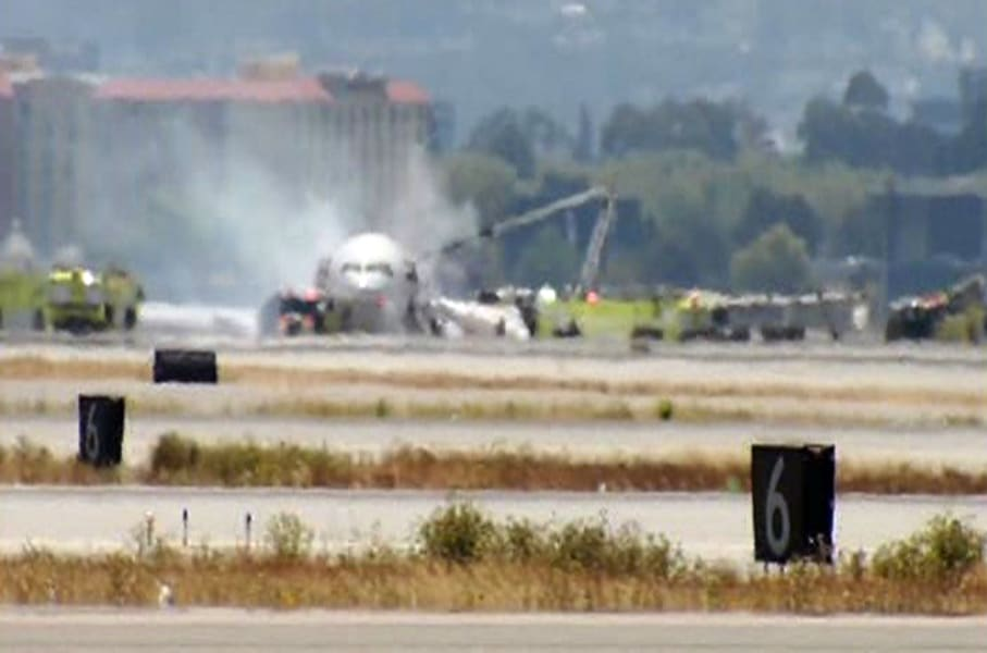 San Fransisco Plane Crash 09