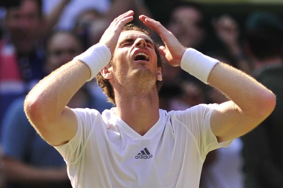 Tennis Wimbledon Murray