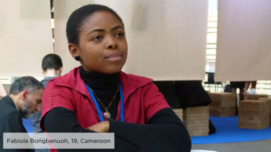 Fabiola Bongbenuoh malala day