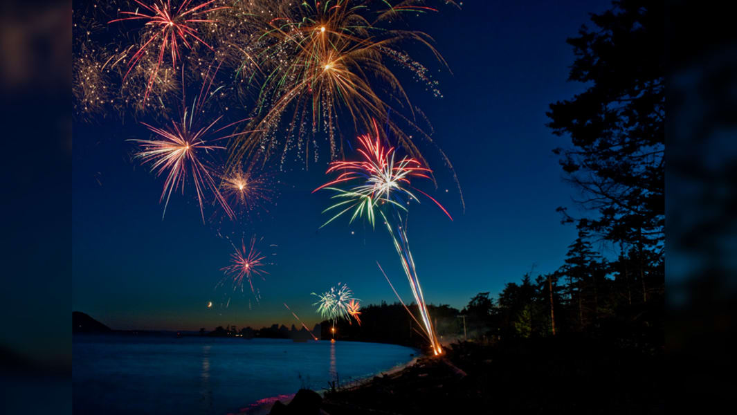 irpt fireworks lummi island