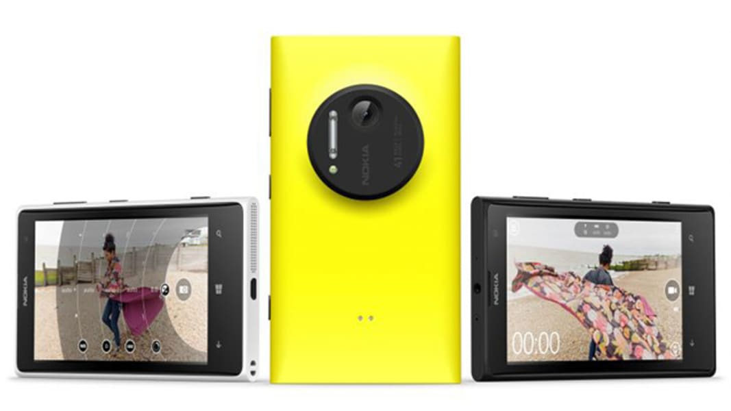 The new Nokia Lumia 1020 packs a 41-megapixel sensor and will cost $300 with an AT&T contract.