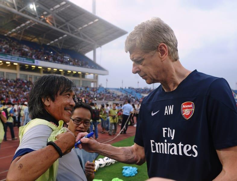 Wenger asia tour