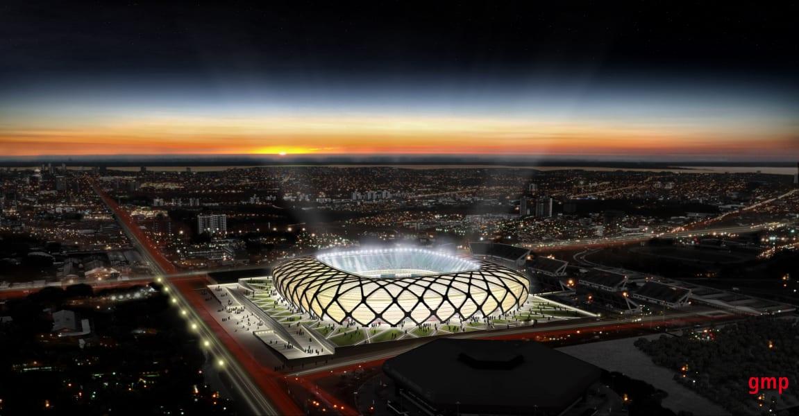 Arena da Amazonia - 3D