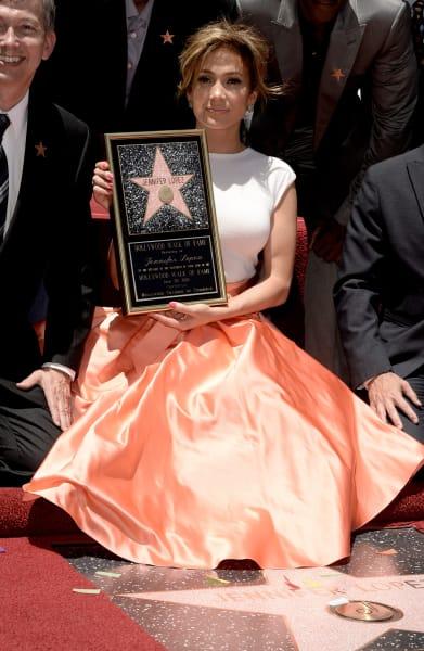 Jennifer Lopez Hollywood Walk of Fame 2013