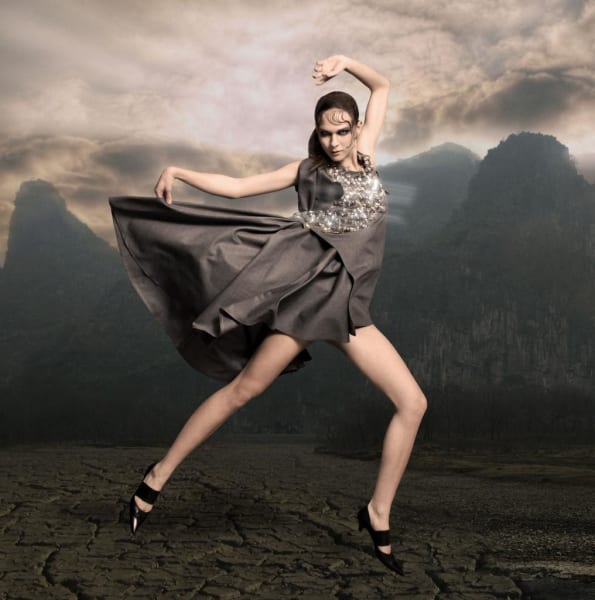 Wearable Technology Climate Dress