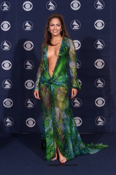 Jennifer Lopez Grammys dress 2000