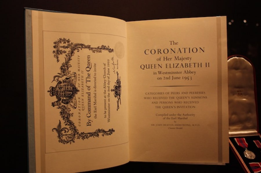 Queen's coronation exhibition 7