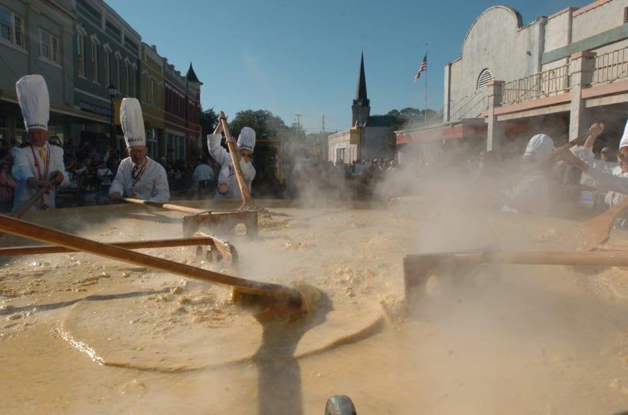 Abbeville Louisiana Giant Omelette Celebration