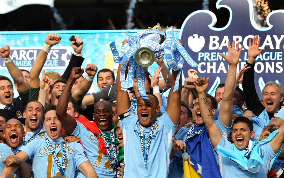 man city premier league 2012