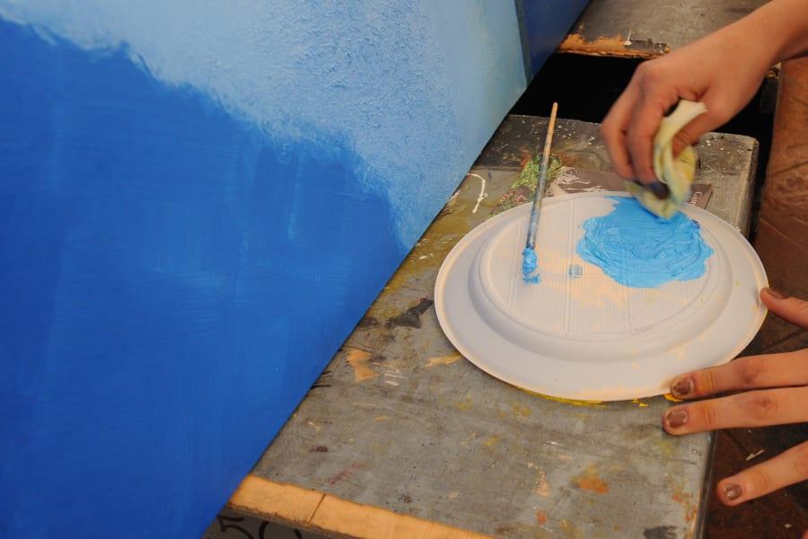 Art supplies painting