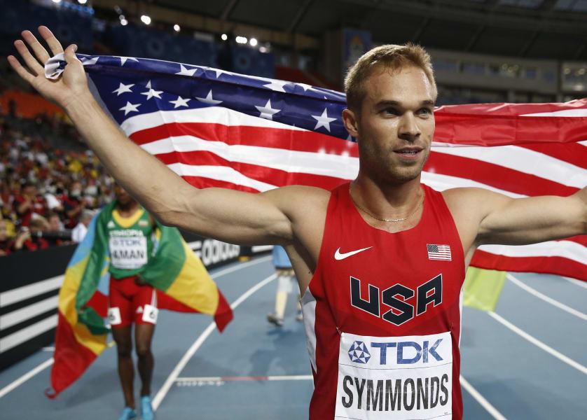 Nick Symmonds Flag