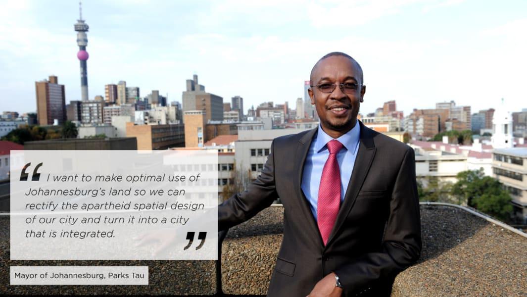 Mayor Johannesburg