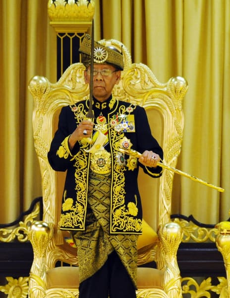 Oldest leaders Malaysia king
