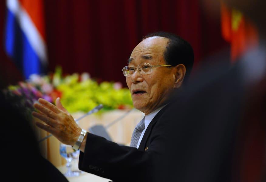 Oldest leaders Kim Yong-Nam