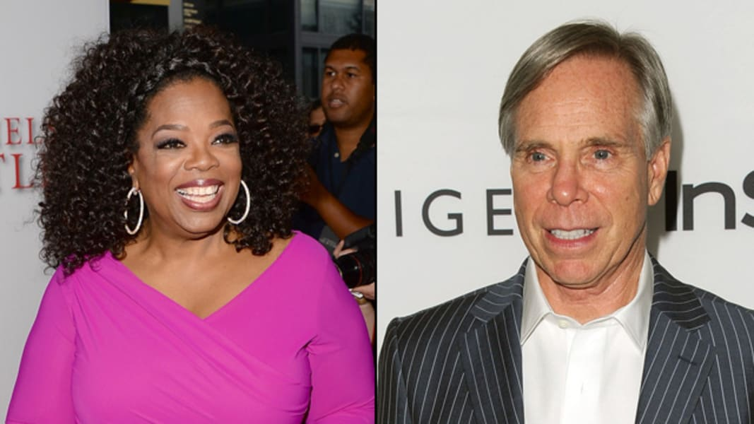 Celeb hoaxes Oprah Winfrey Tommy Hilfiger
