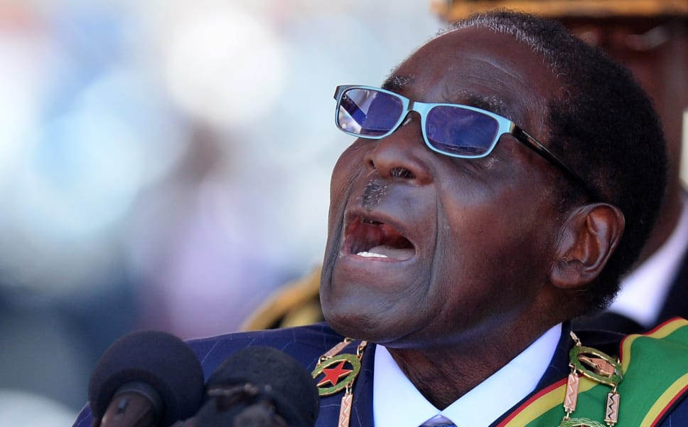 Oldest leaders Mugabe