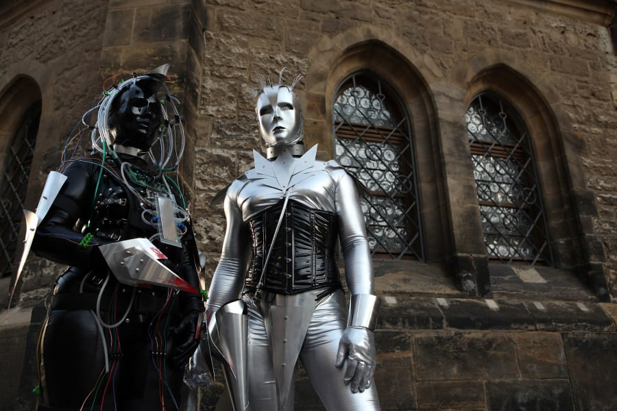 Cybergoths Wave and goth festival