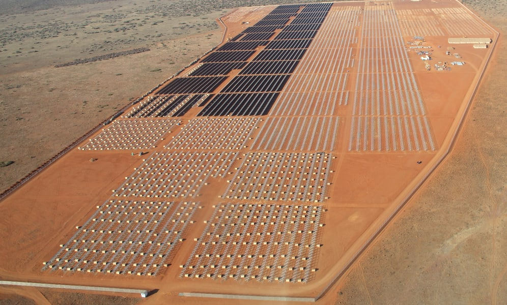 africa solar energy Lesedi