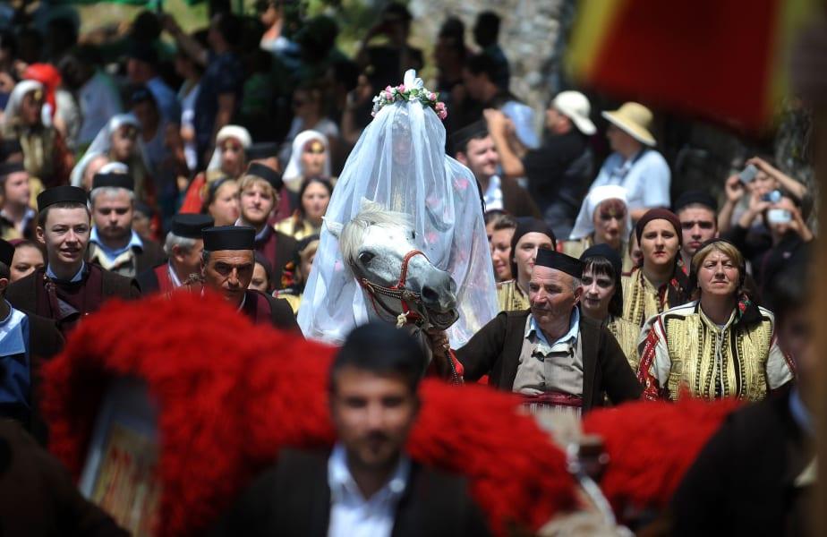 macedonia bride