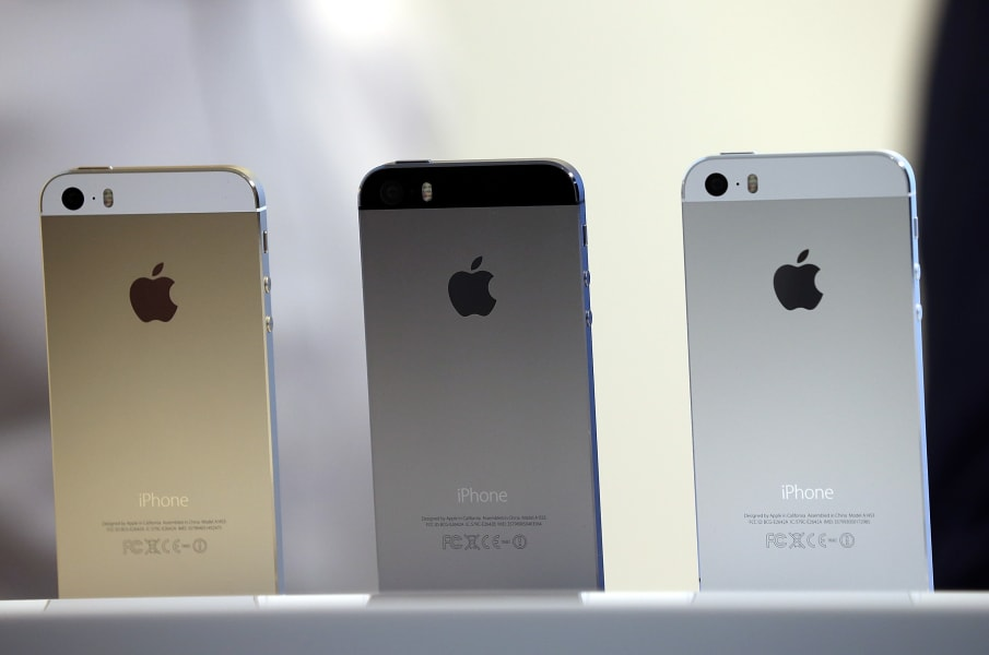 iphone 5s colors