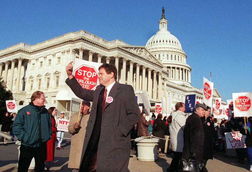 17 government shutdown 1995