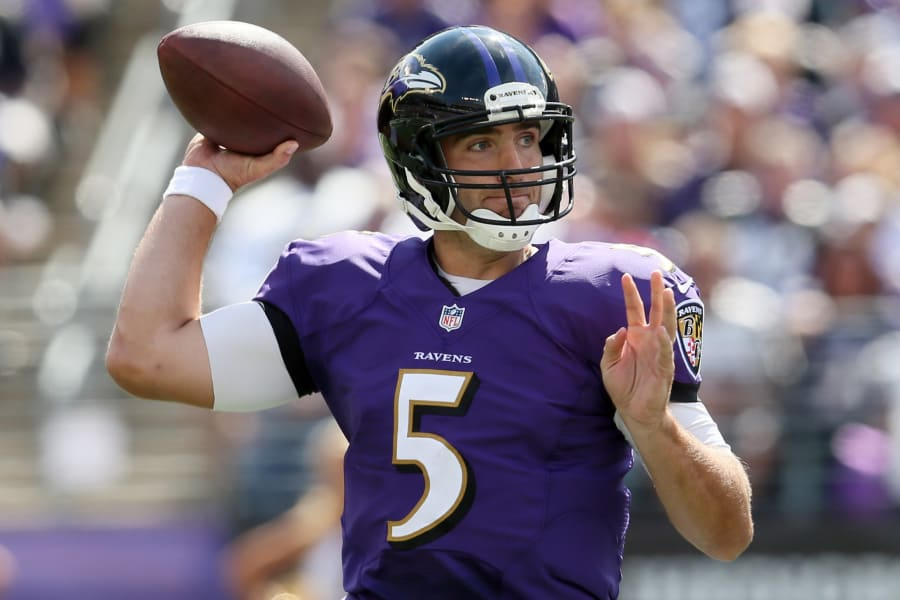 flacco throws