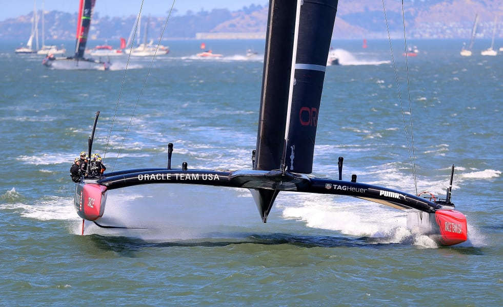 america's cup oracle yacht