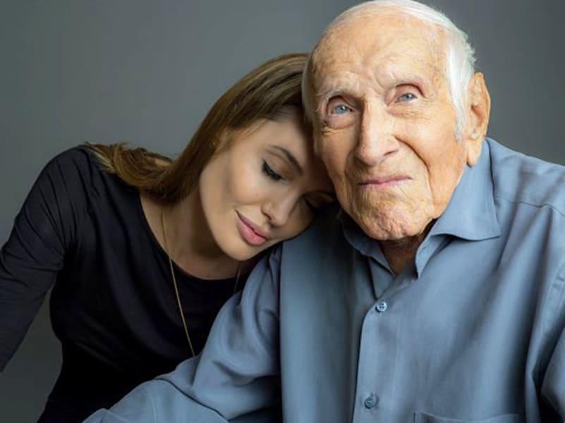 Angelina Jolie Louis Zamperini Unbroken