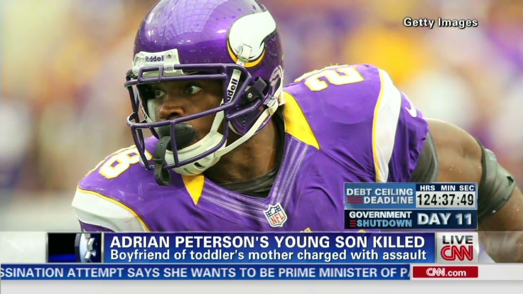 Erin Wian dnt  NFL Adrian Peterson child dies from assault_00012504
