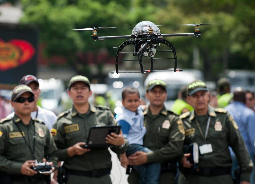 drone uses law enforcement